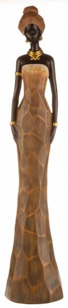 Afrikansk dame m/gull 112180